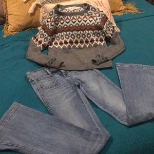 Juicy Couture Jeans and Sweater bundle 🍂